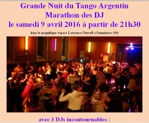 Grand marathon Sommières 8 au 10 Avril 2016