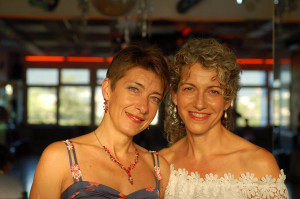 Iryna et Sylvie