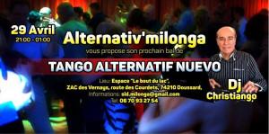Milonga 29 Avril